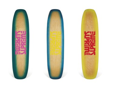 Skateboard Auction Supreme Christies Ny31