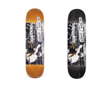 Skateboard Auction Supreme Christies Ny38