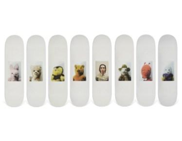 Skateboard Auction Supreme Christies Ny43