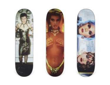 Skateboard Auction Supreme Christies Ny44