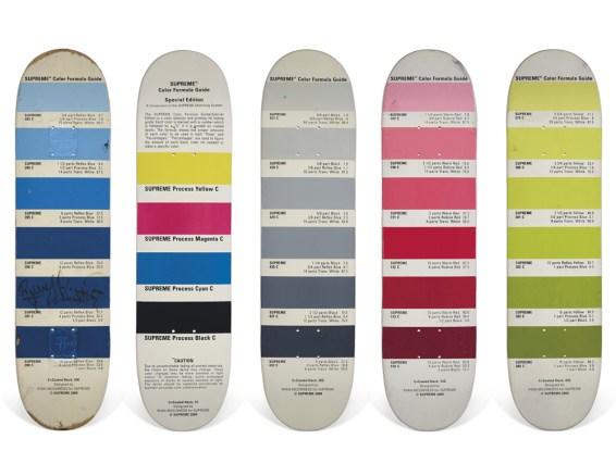 Skateboard Auction Supreme Christies Ny5