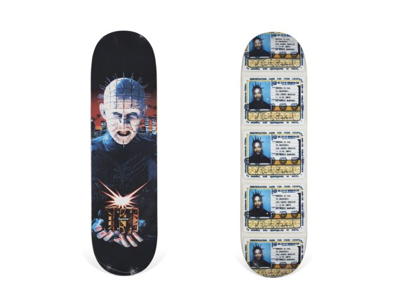 Skateboard Auction Supreme Christies Ny50