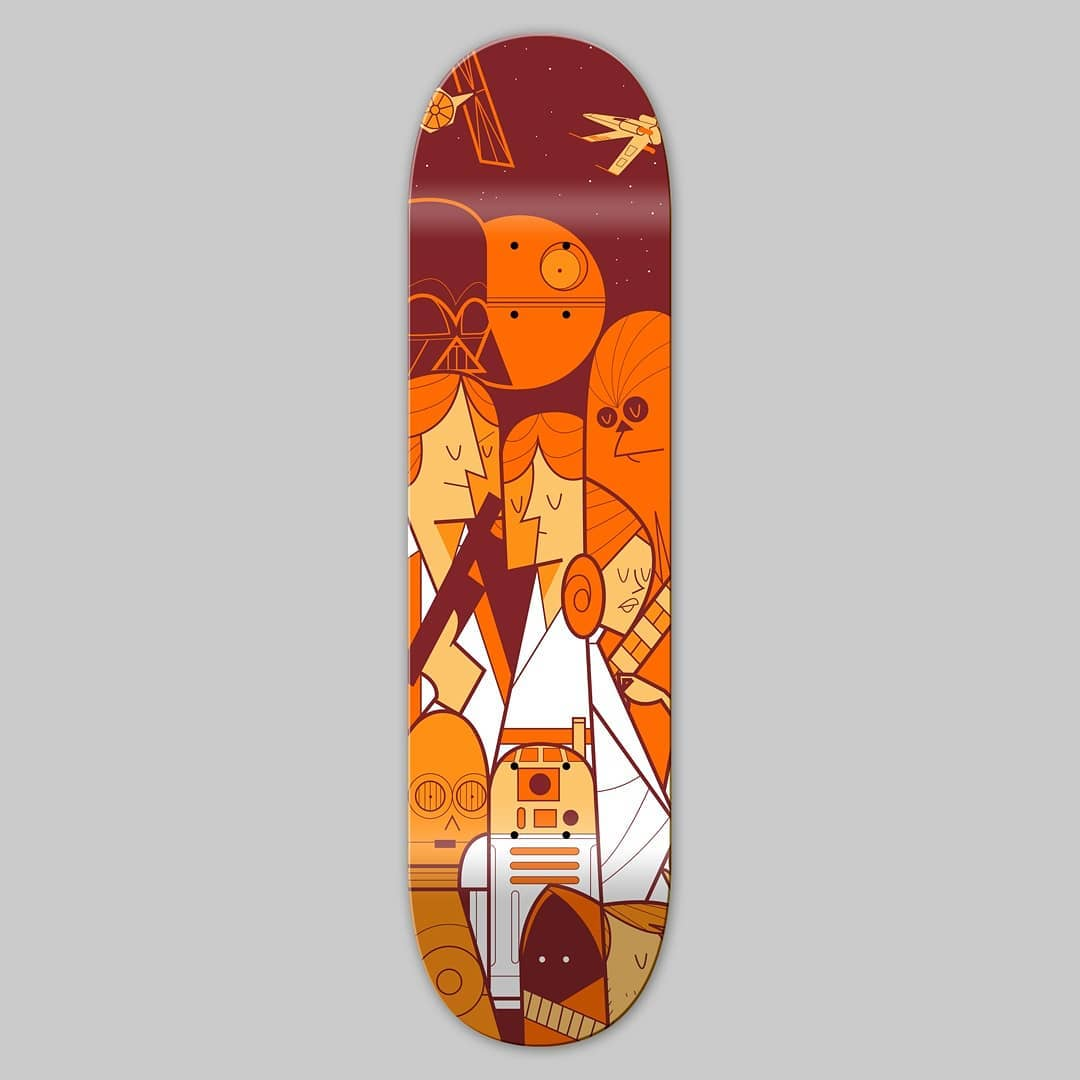 Trilogy Skateboards By Ale Giorgini Bonobolabo 1