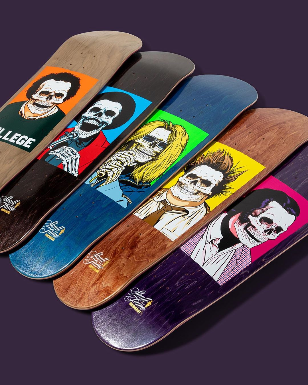 Skull Of Fame Series By Sean Cliver Girl Skateboards 11
