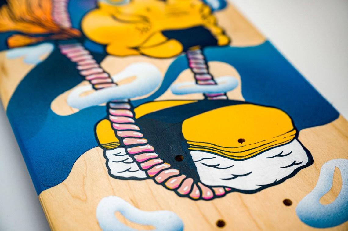 Apercu Skateboards Spraying Board 001 1