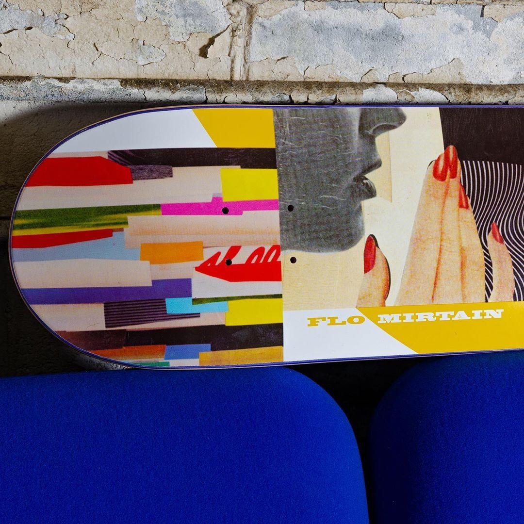 Collage Series Par Johanna Goodman X Habitat Skateboards4