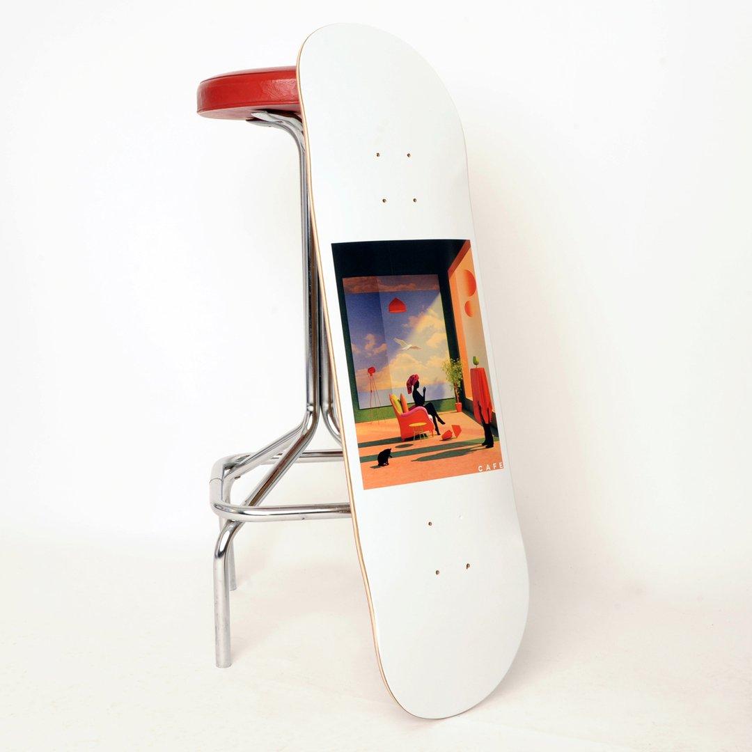 Tishk Barzanji X Skateboard Cafe Skate Decks 3