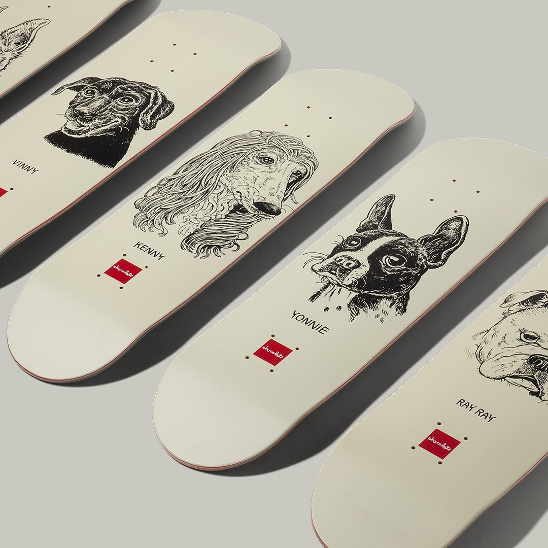 Big Dawgs Series By Travis Millard X Chocolate Skateboards 4.jpg