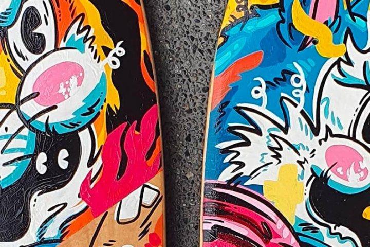 Custom Skateboards By Jappy Agoncillo