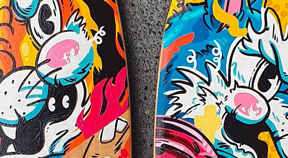 Custom Skateboards By Jappy Agoncillo