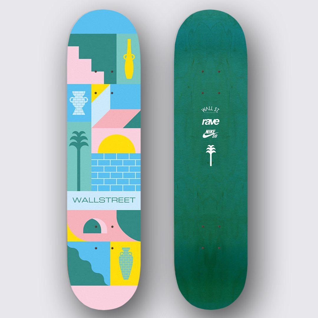 Thomas Lateur Skateboard Pour Wallstreet Skateshop 2