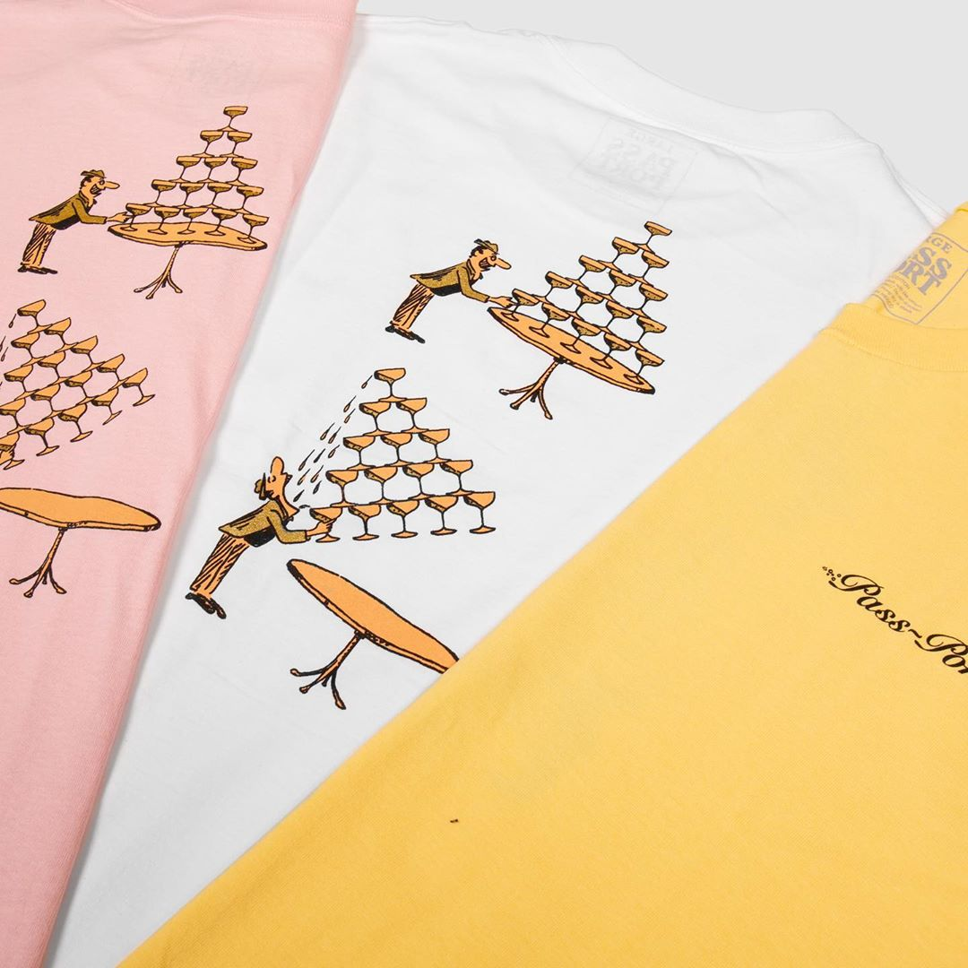 Champagne Series By Pass Port Skateboards 4