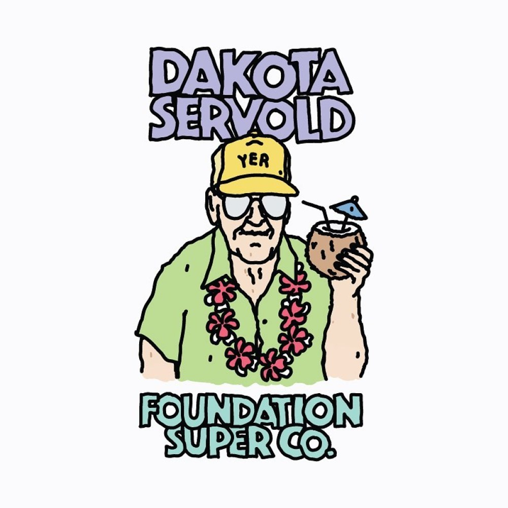 Old Guys Series By Brother Merle X Foundation Skateboards 8