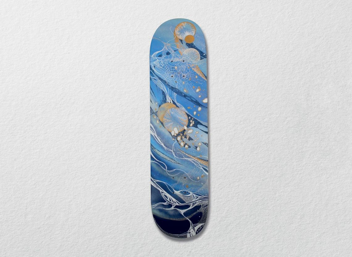 Cosmos Skateboards Series Par Mathias Costa 7