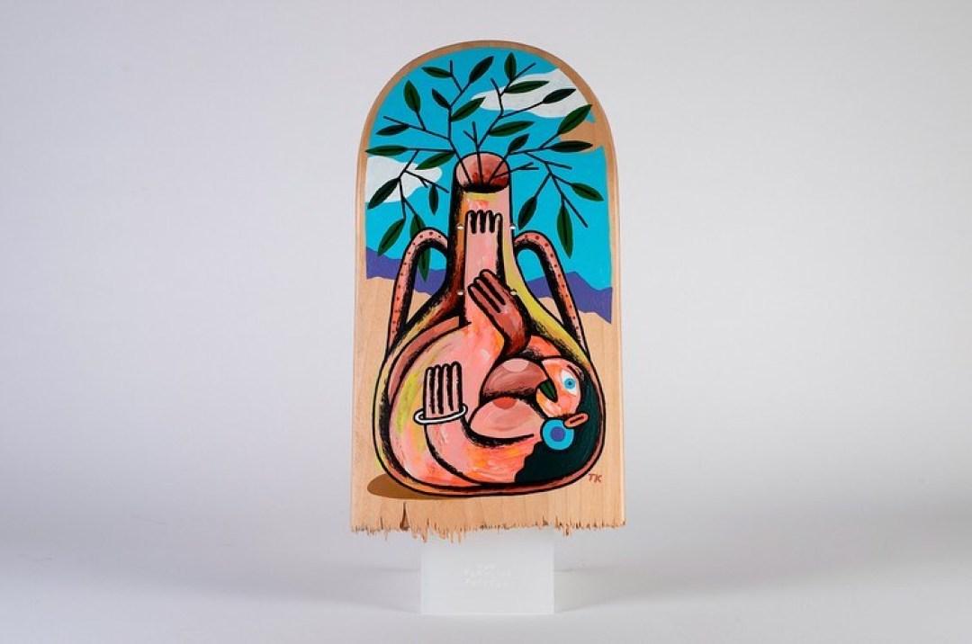 The Fertility Pottery Broken Decks By Tommy Knuts 11