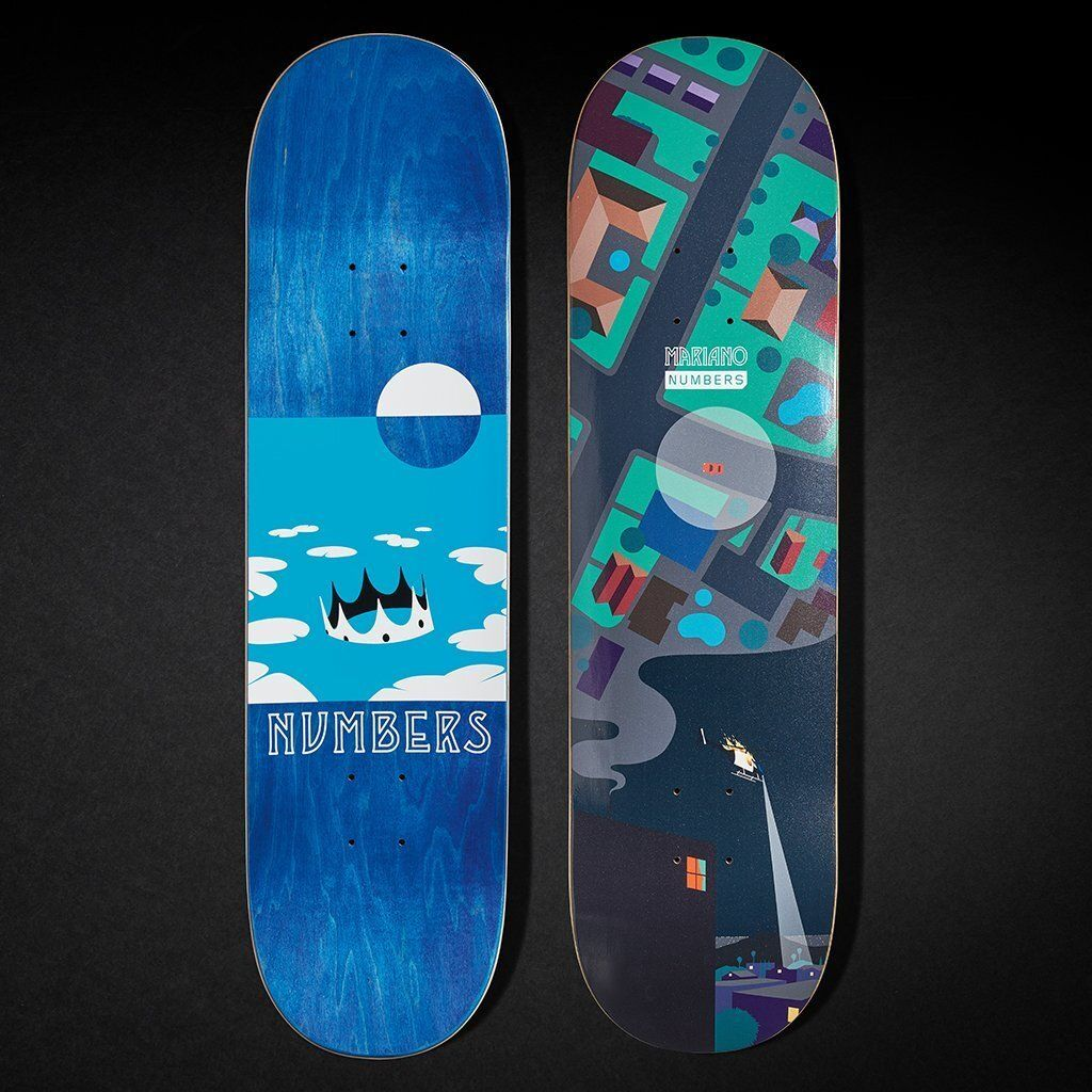 6 Series By Greg Ito Numbers Skateboards 5