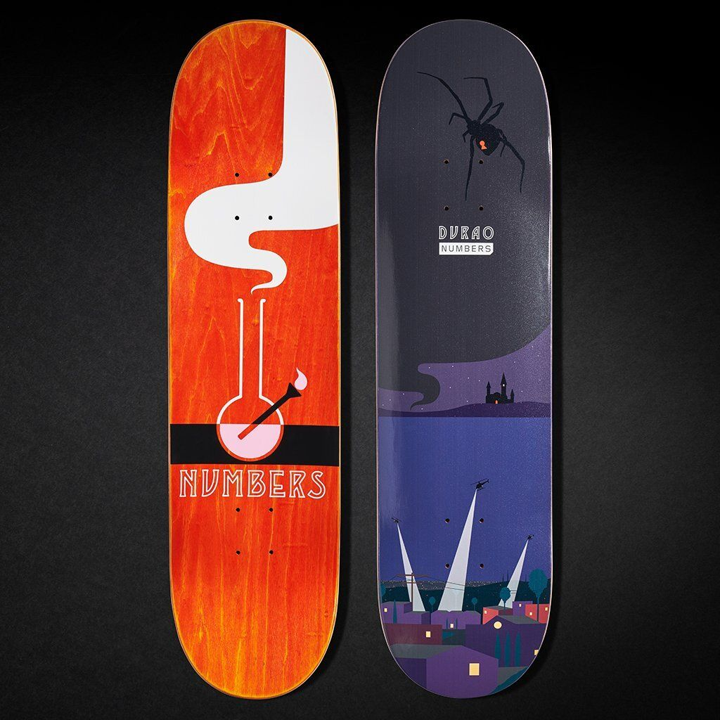 6 Series By Greg Ito Numbers Skateboards 7