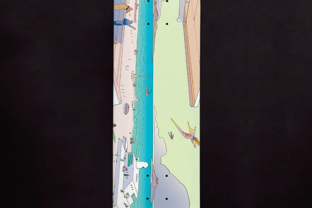 Moebius X Primitive Skateboards 10