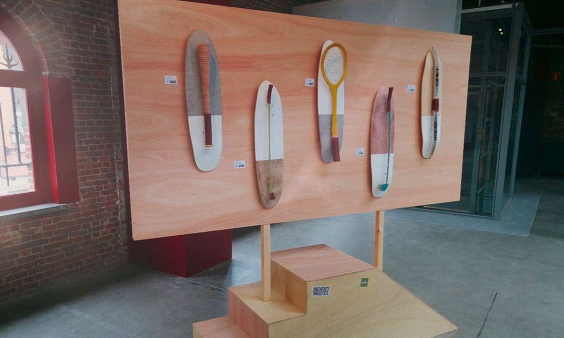 Olympic Street Sports Skateboards Par Thibaut Lamarque Pour L European Custom Board Show 4