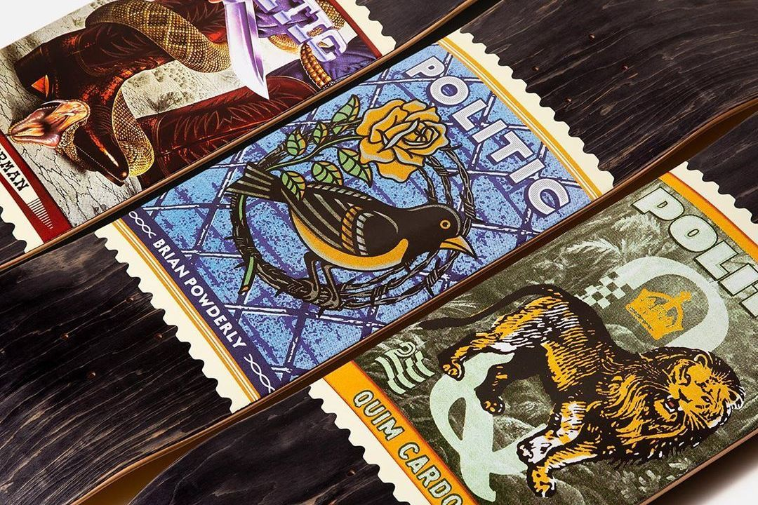 Stamp Series By Politic Skateboards 5