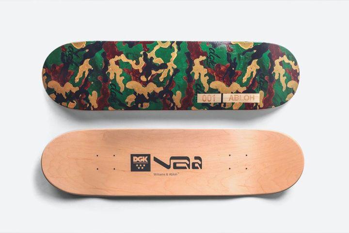 Williams Abloh Skateboard By Virgil Abloh Dgk 3