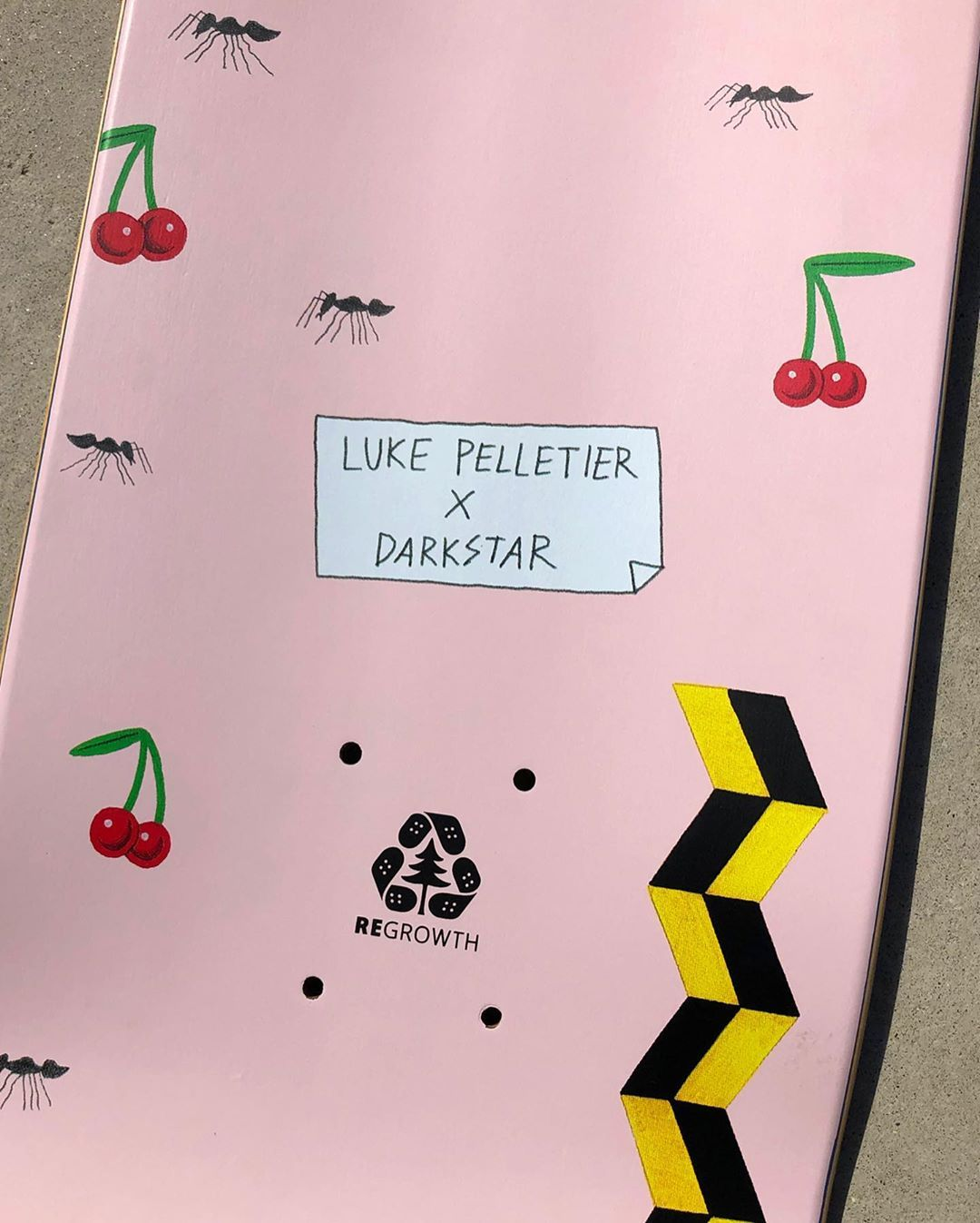 Guest Artist Pro Series By Luke Pelletier X Darkstar Skate 8