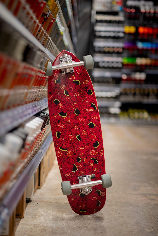 Noir De Rouge Custom Board Par Pierre Guillonneau 1