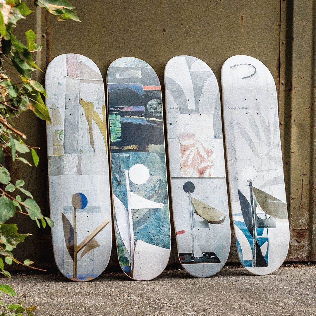 Sculpture Series By Nick Jensen X Isle Skateboards 4