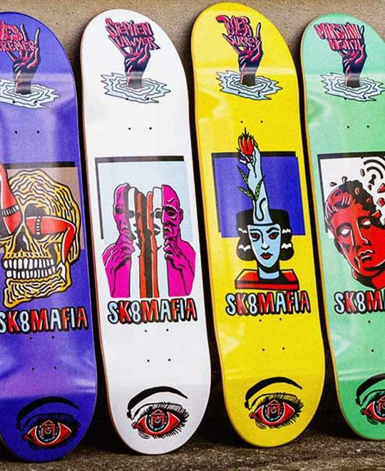 Ward Skateboard Series By Sk8mafia 5
