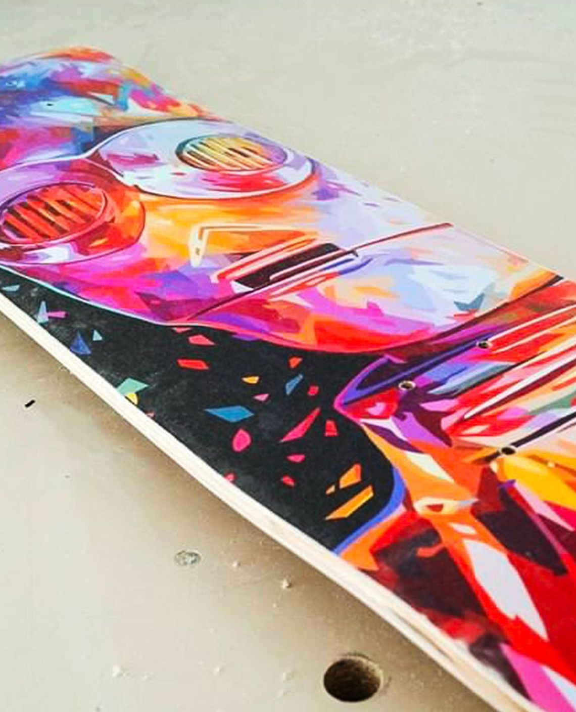Droid Father Soldier Skateboards By Kaneda X Bonobolabo 4