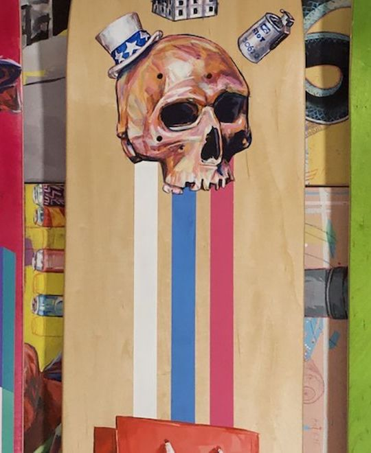 Kick The Ladder Custom Skateboards By Paulo 7