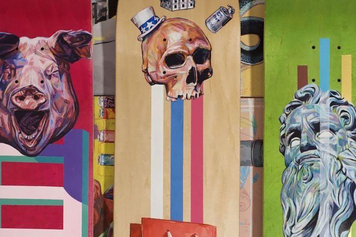 Kick The Ladder Custom Skateboards By Paulo 7