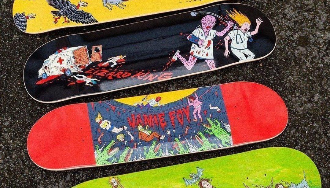 Jj Villard X Deathwish Skateboard 9