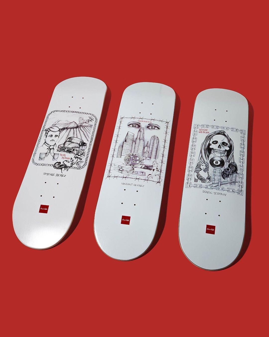 Big City Big Dreams Series By Cmg X Chocolate Skateboards 7