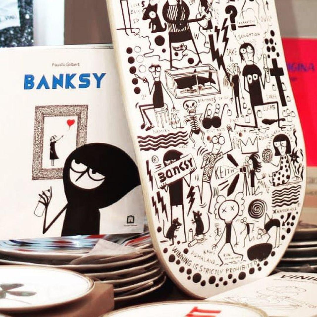Dead Artist Walking Skateboard By Fausto Gilberti X Bonobolabo 4