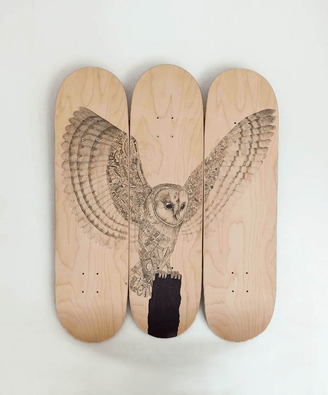 Predation Discrete Skateboards Triptyque By Les Planches De Rom