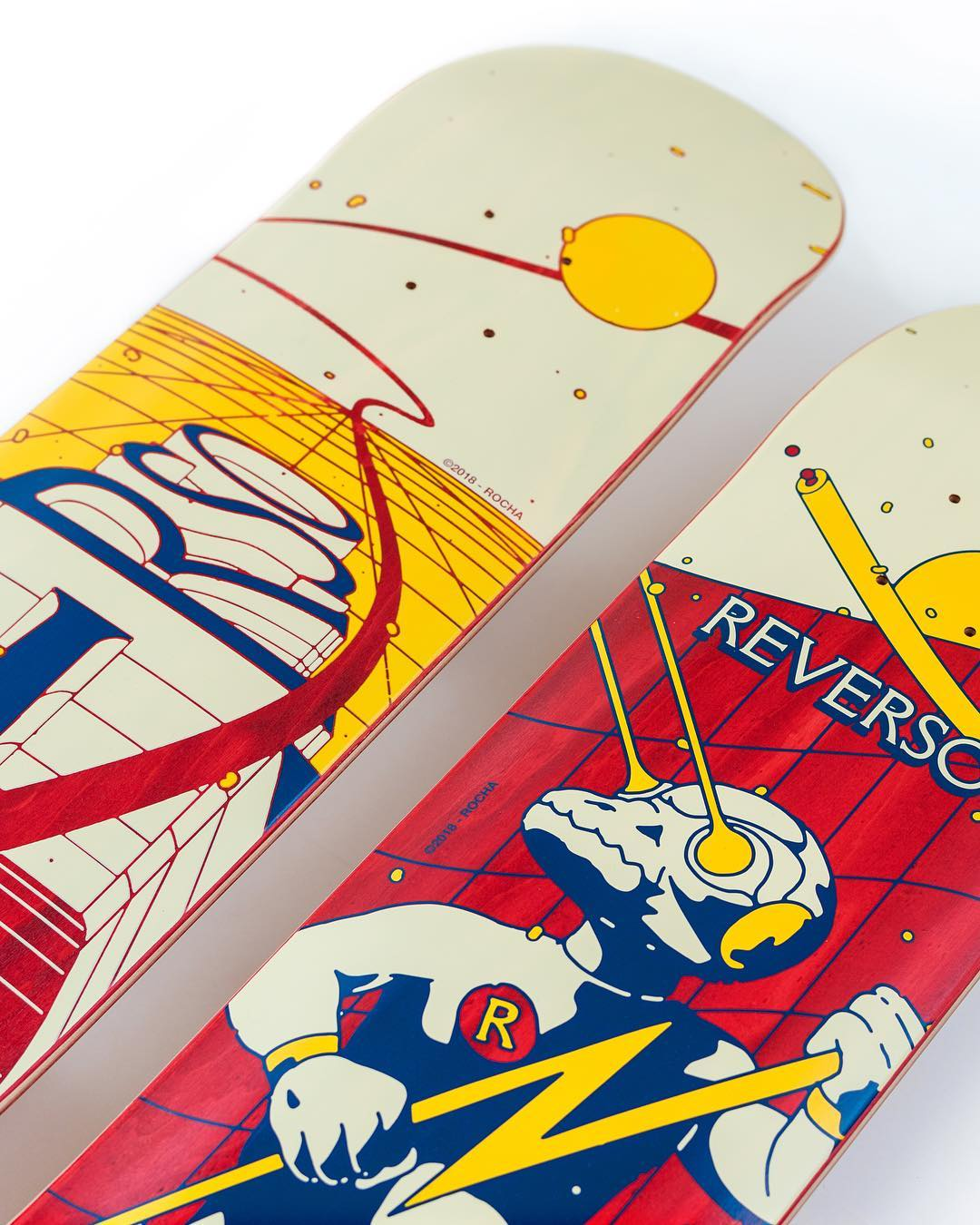 Recoil And Engage By David Rocha X Reverso Skateboards 2