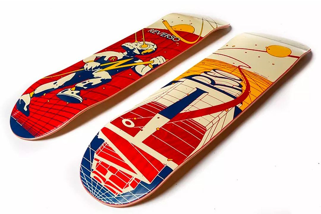 Recoil And Engage By David Rocha X Reverso Skateboards 7