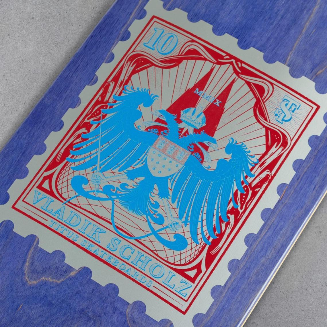 10 YRS Series Par Vast Studio X Titus Skateboards 2