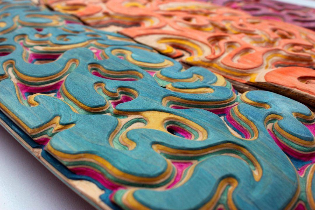 Carving Custom Skateboards By Tom Le Maitre 1