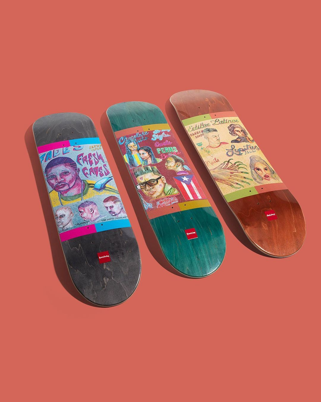 Chocolate Cuts By CMG Loves You For Chocolate Skateboards 5