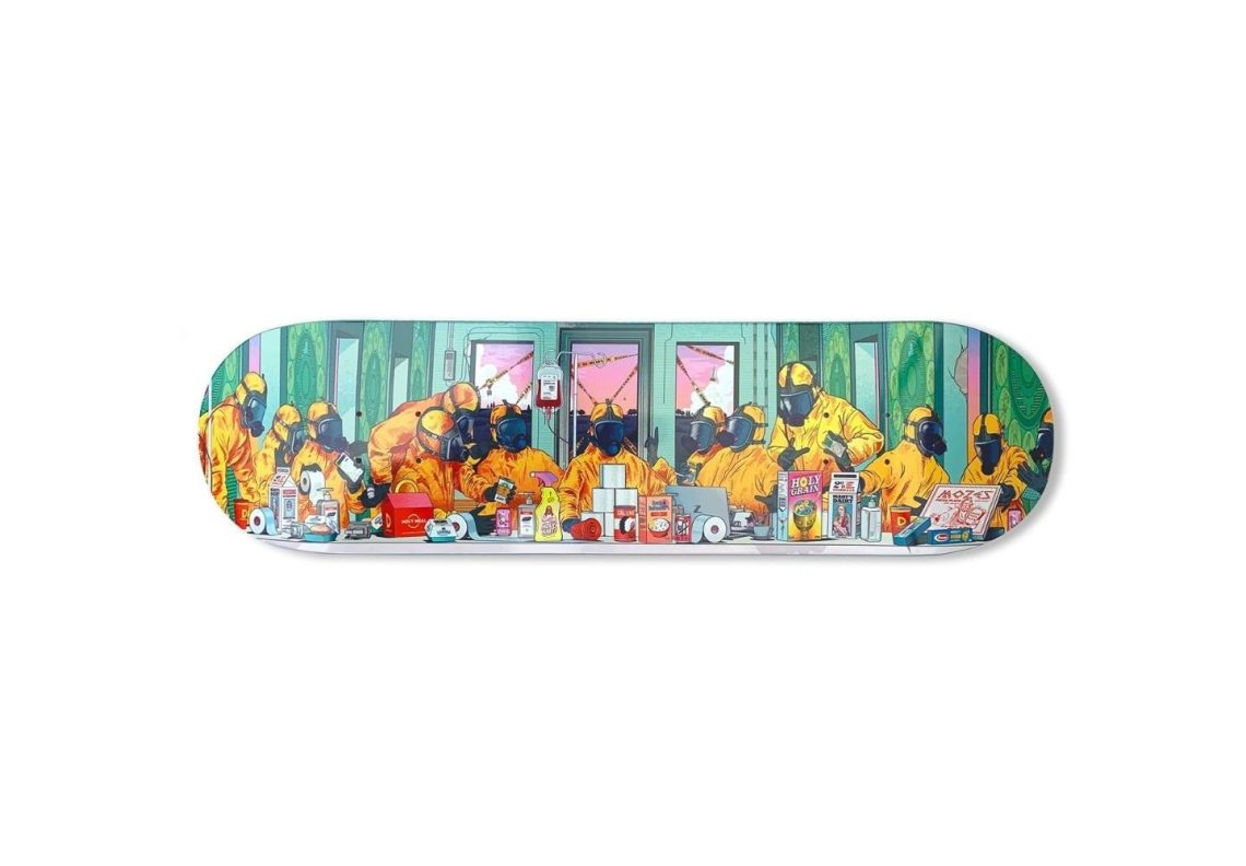The Last Supper Skateboard By Musketon 7
