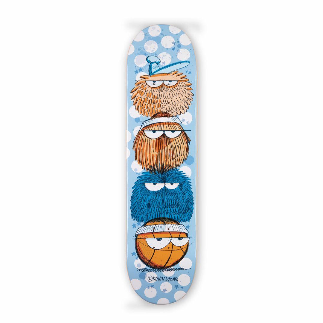 Kevin Lyons X 1xrun Skateboard Decks 1