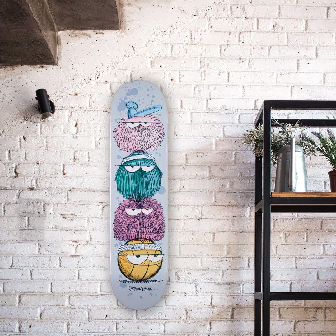 Kevin Lyons X 1xrun Skateboard Decks 3