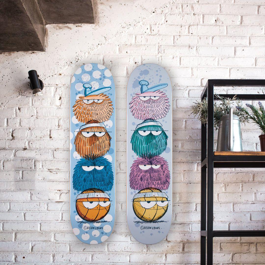 Kevin Lyons X 1xrun Skateboard Decks 6