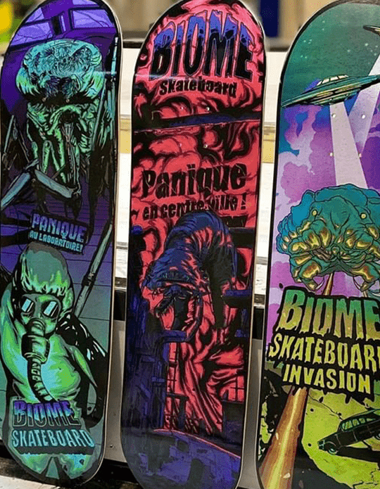 Micro Monstres Series By Skorp X Biome Skateboards.11