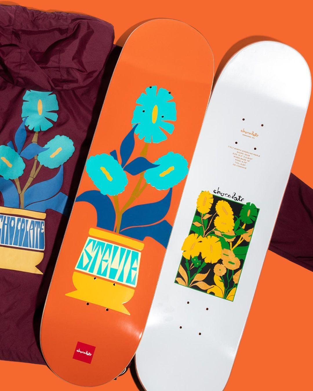 Plantasia Series Par Ben Peterson X Chocolate Skateboards.4