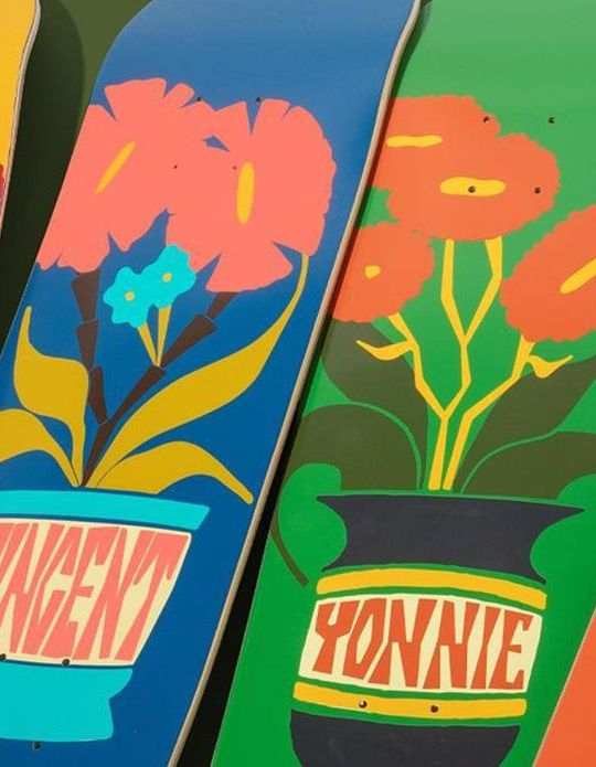 Plantasia Series Par Ben Peterson X Chocolate Skateboards.6