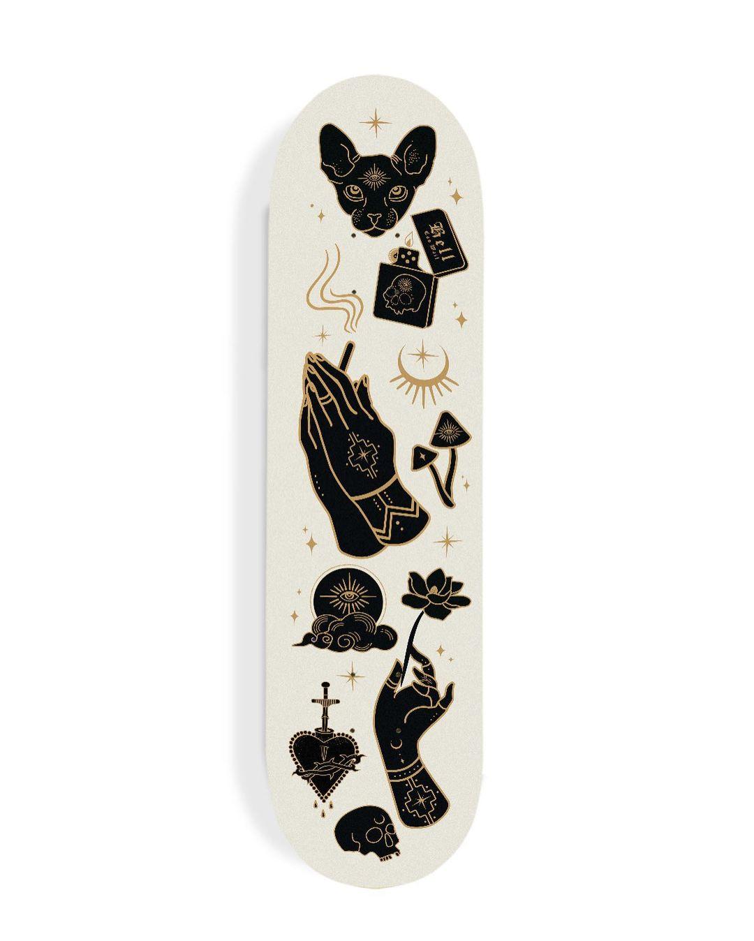 Skate Deck Design Concepts By Daphna Sebbane 1