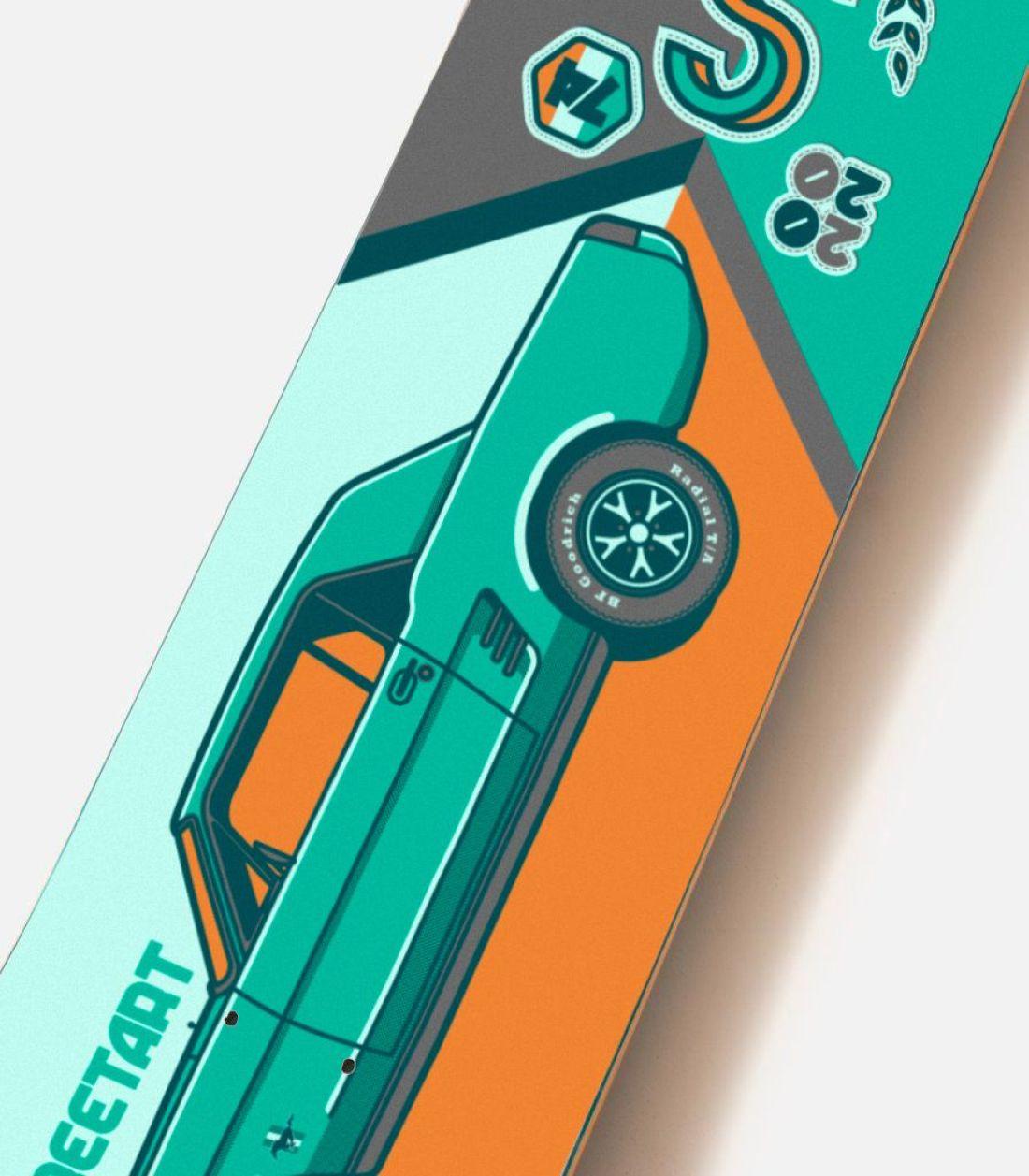 Streetart X Jono Wood Skateboard Decks 2